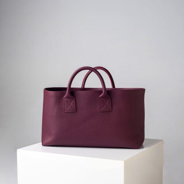 Big Shopping Bag - Bordeaux