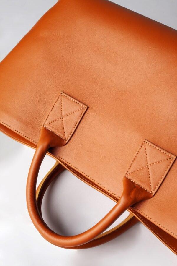 marija tarlac big shopping bag camel 1 1