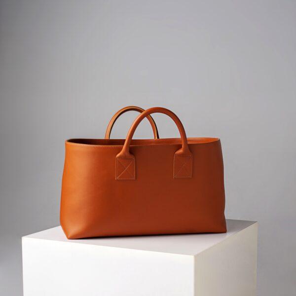 marija tarlac big shopping bag camel 1