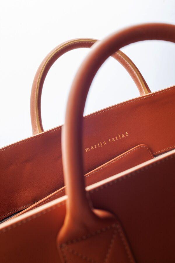 marija tarlac big shopping bag camel 2 1
