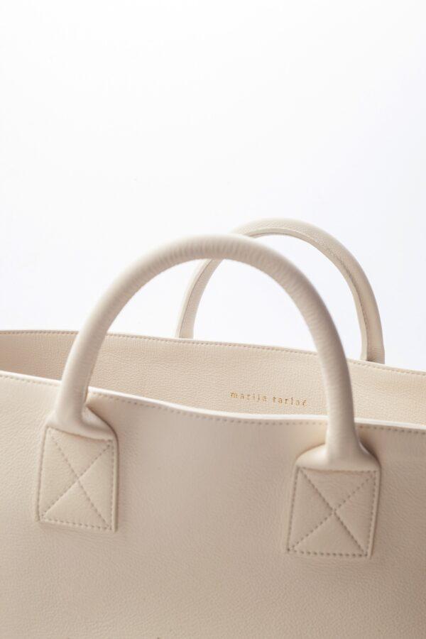 marija tarlac big shopping bag off white 1