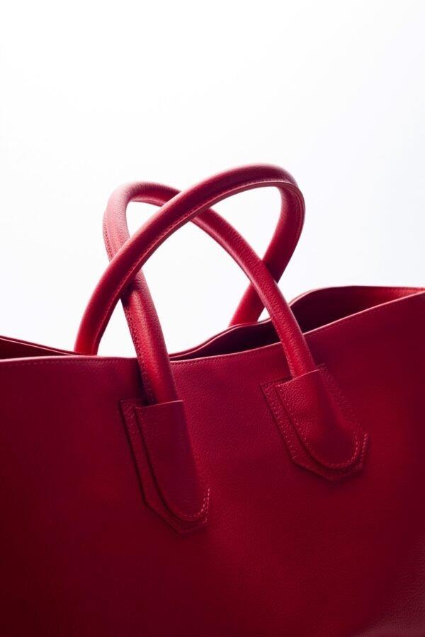 marija tarlac big shopping bag red 1