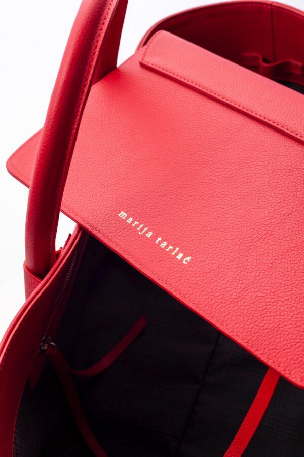 marija tarlac big shopping bag red 2