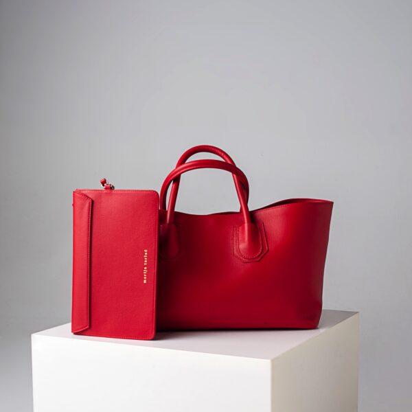 Big Shopping Bag - Red