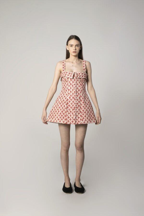 Cotton Spring A-line Dress