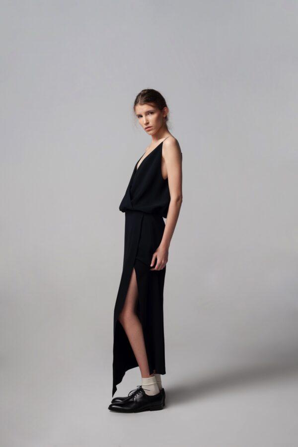 marija tarlac draped dress 1