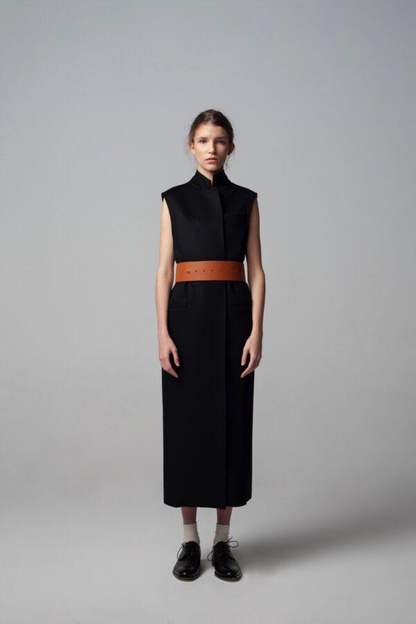 marija tarlac long cashmere vest 1
