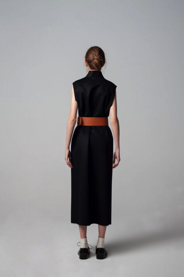 marija tarlac long cashmere vest 2