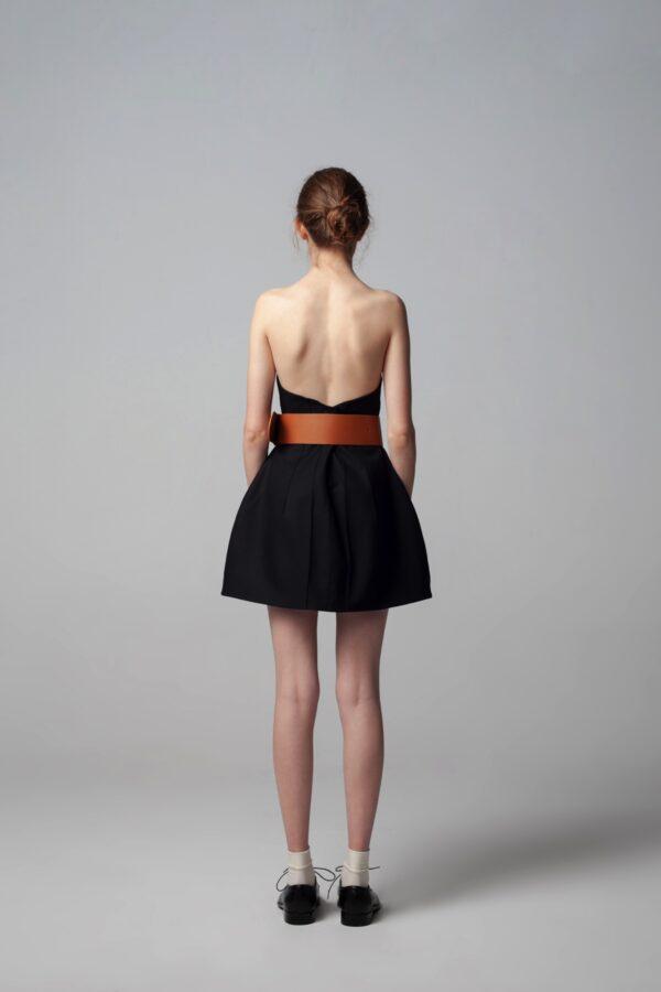 marija tarlac strapless mini dress 1