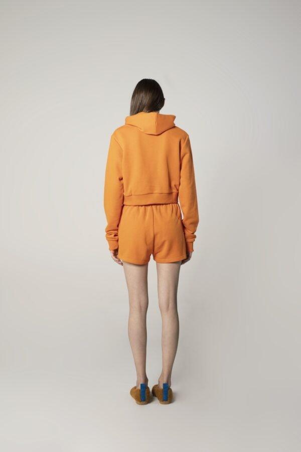 marija tarlac long sleeve hoodie in orange 1