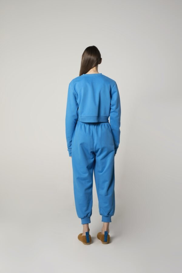 marija tarlac long sleeve sweatshirt in blue 1