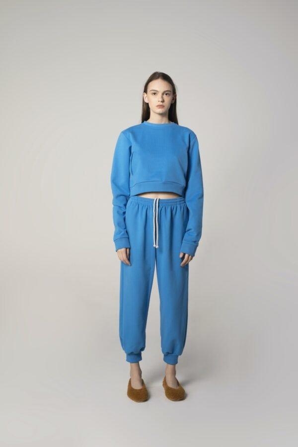 Sweatpants in Blue